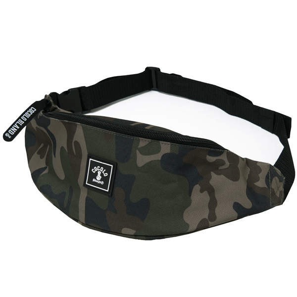 画像1: BONG WAPPEN MINI BODY BAG (CAMO) (1)