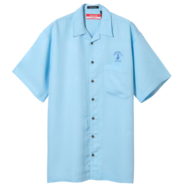 画像1: BONG RAYON CAMP SHIRTS (Lt-BLUE) (1)
