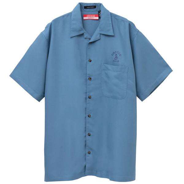 画像1: BONG RAYON CAMP SHIRTS (DARK BLUE) (1)