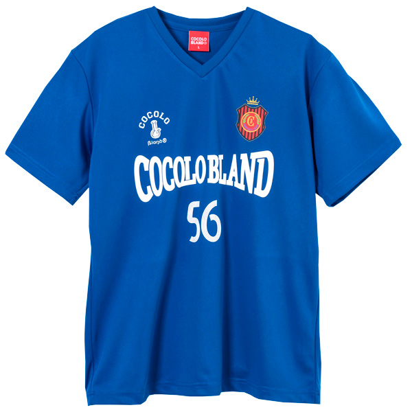 画像1: SALE!! COCOLO FOOTBALL CLUB GAME SHIRTS (BLUE) (1)