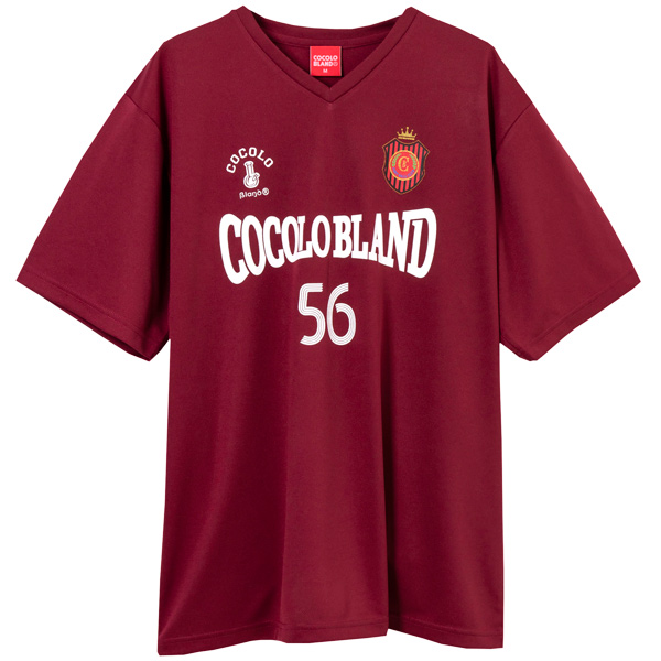 画像1: COCOLO FOOTBALL CLUB GAME SHIRTS (BURGUNDY) (1)