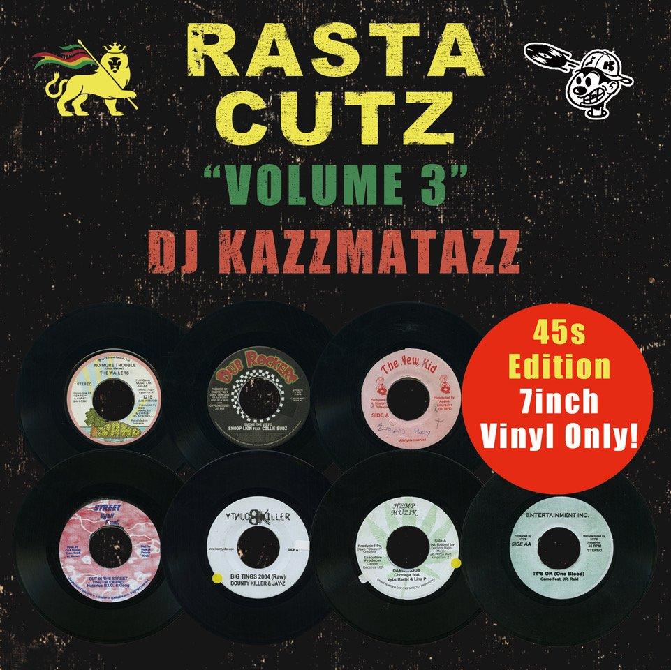 画像1: DJ KAZZMATAZZ / RASTA CUTZ VOLUME 3 (1)