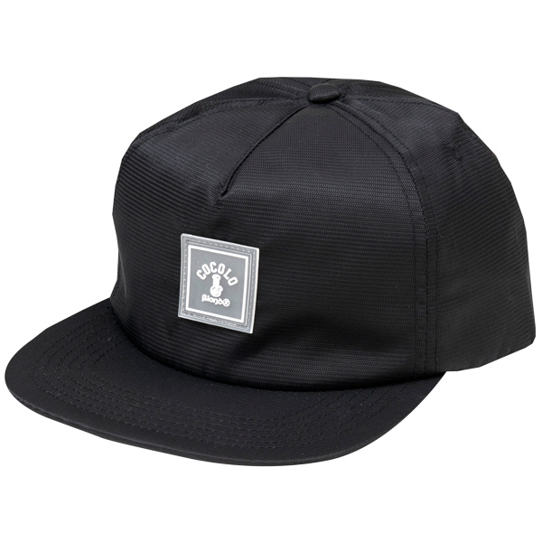 画像1: WAPPEN RIPSTOP CAP(BLACK) (1)
