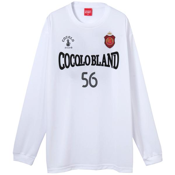画像1: COCOLO FOOTBALL CLUB L/S GAME SHIRTS (WHITE) (1)