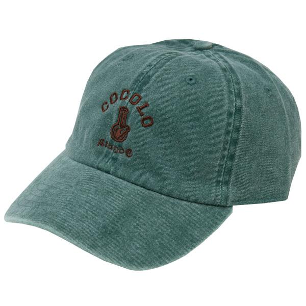 画像1: CLASSIC BONG 6PANELS CAP (WASH GREEN) (1)