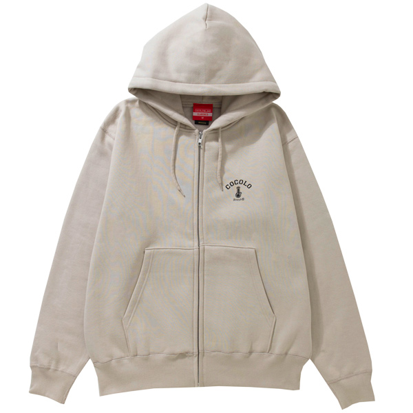 画像1: BACK BONG HEAVY ZIP PARKA (LIGHT BEIGE) (1)