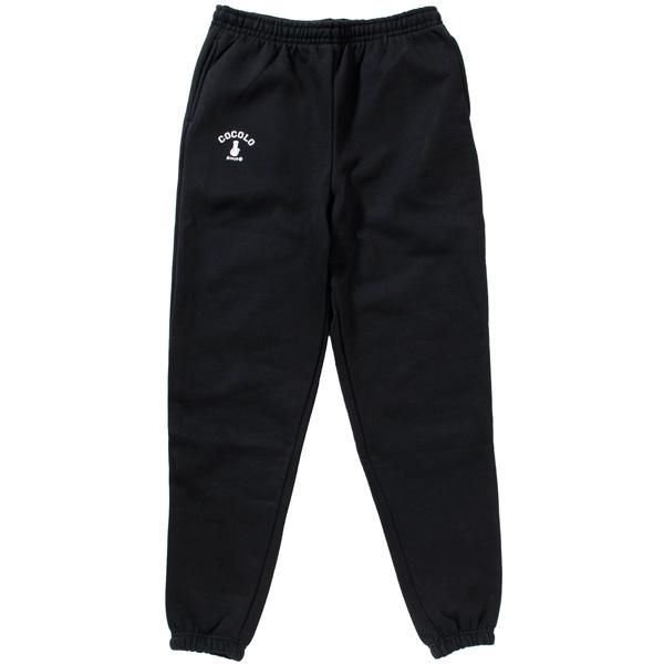 画像1: BONG HEAVY SWEAT PANTS(BLACK) (1)