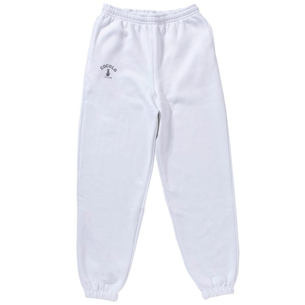 画像1: BONG HEAVY SWEAT PANTS(WHITE) (1)