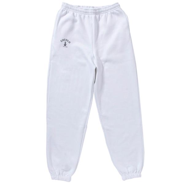 画像1: BONG HEAVY SWEAT PANTS(WHITE) (1)
