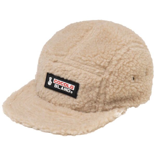 画像1: PVC WAPPEN BOA CAP (BEIGE) (1)