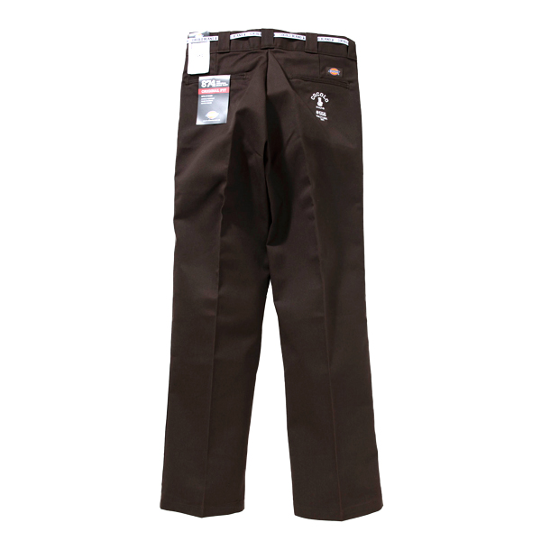 画像1: #556 WORK PANTS (DARK BROWN) (1)