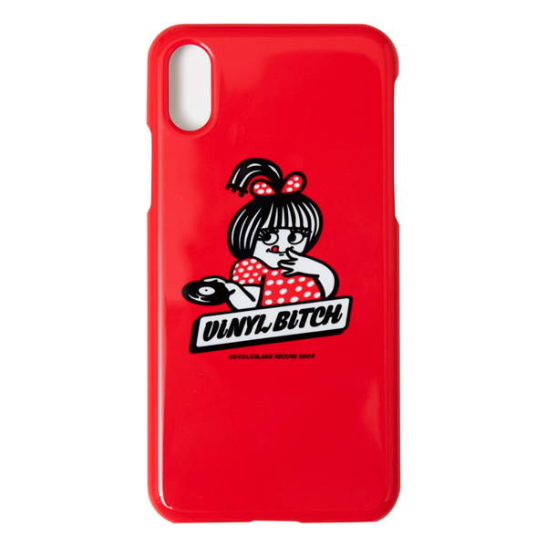 画像1: VINYL BITCH HOT WAX iPHONE CASE (RED) (1)