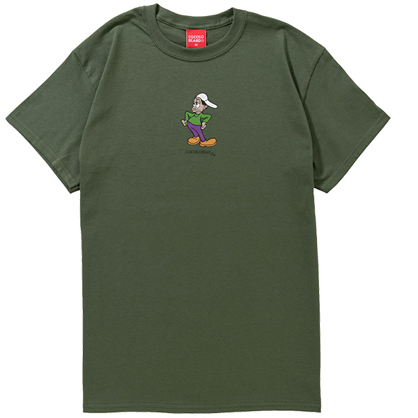 画像1: MUSICAL YOUTH S/S TEE (ARMY GREEN) (1)