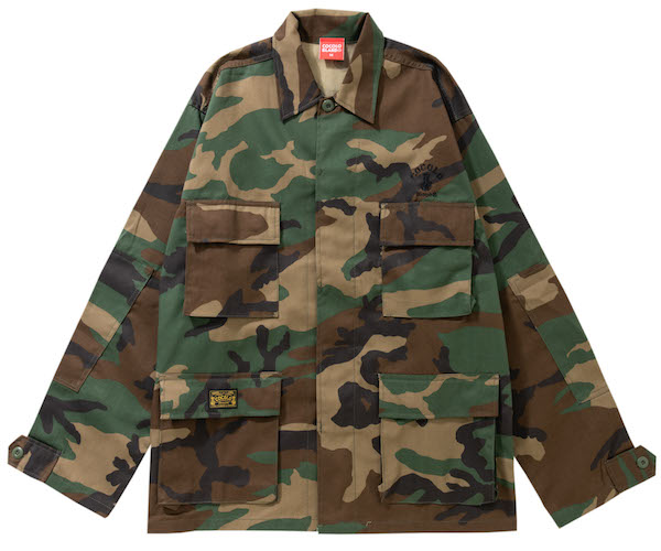画像1: CAMO BDU SHIRTS(WOOD CAMO) (1)