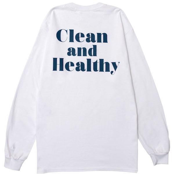 画像1: CREAN&HEALTHY L/S(WHITE) (1)