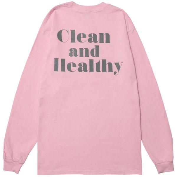 画像1: lemongrocery CREAN&HEALTHY L/S(PINK) (1)