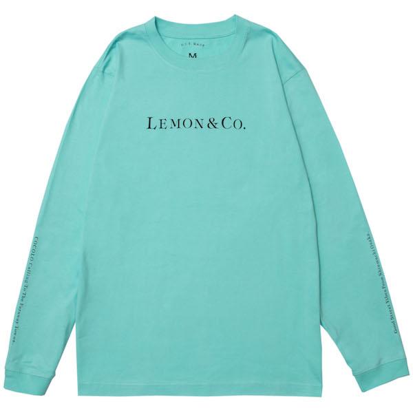 画像1: lemongrocery LEMON&CO L/S(BLUE) (1)