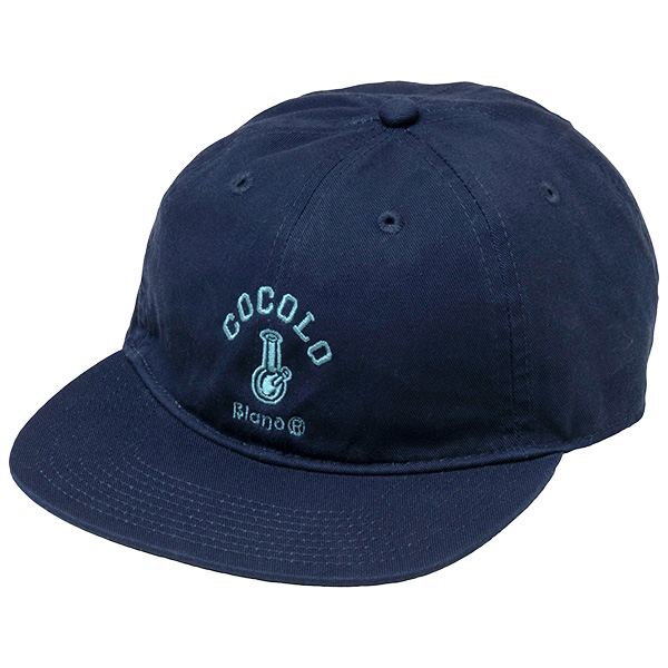 画像1: ORIGINAL BONG  FLAT VISOR CAP(NAVY) (1)