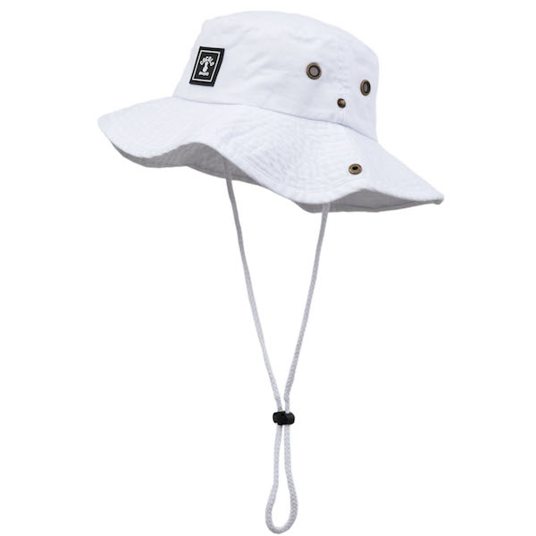 画像1: WAPPEN SAFARI HAT(WHITE) (1)