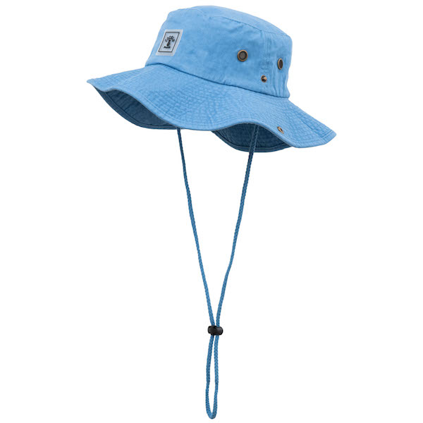 画像1: WAPPEN SAFARI HAT(BLUE) (1)