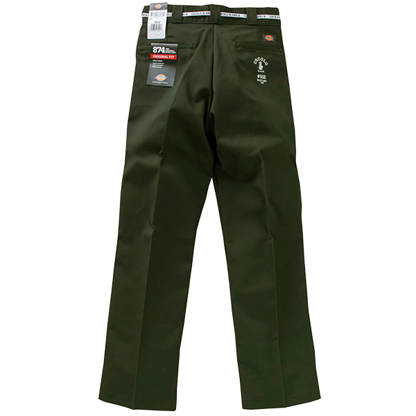 画像1: #556 WORK PANTS (OLIVE GREEN) (1)