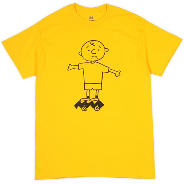 画像1: Shakastics x Ken Kagami 5  Short Sleeve T-Shirt (YELLOW) (1)