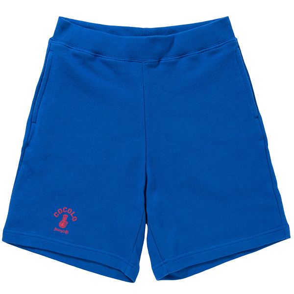 画像1: BONG SWEAT SHORTS (BLUE) (1)