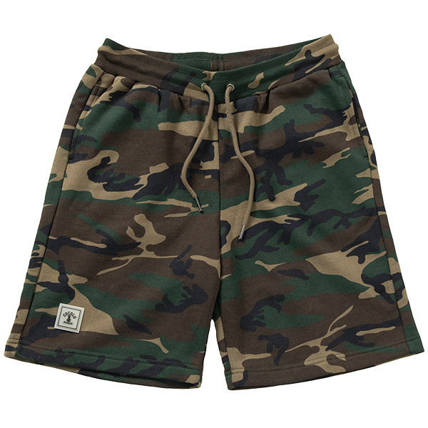 画像1: CAMO WAPPEN SWEAT SHORTS  (1)
