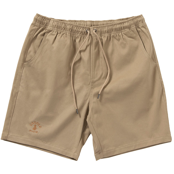 画像1: CHINO EASY SHORTS (KHAKI) (1)