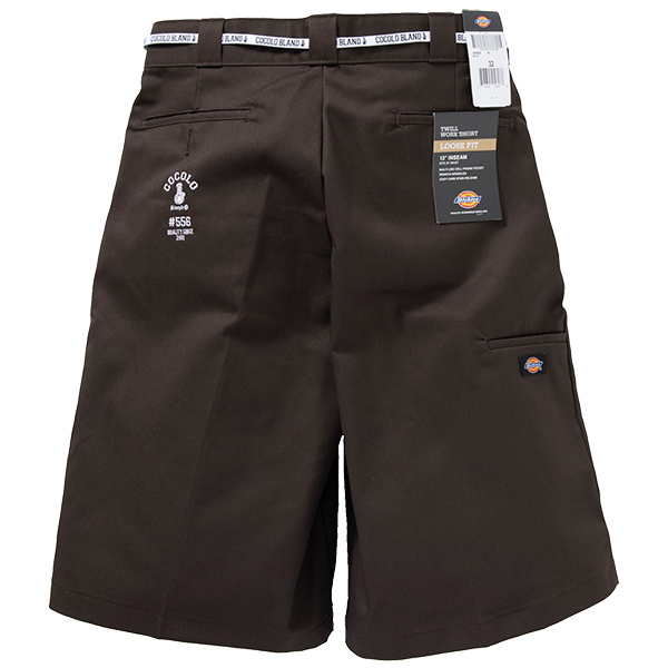 画像1: #556 WORK SHORTS (DARK BROWN) (1)