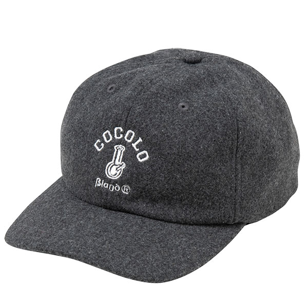 画像1: ORIGINAL BONG WOOL CAP (CHARCOAL) (1)