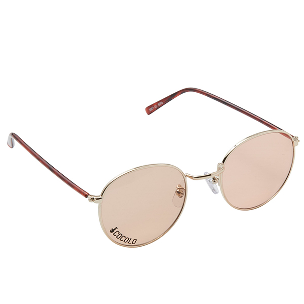 画像1: ROUND TOY SUNGLASS(DEMI/BROWN LENS) (1)