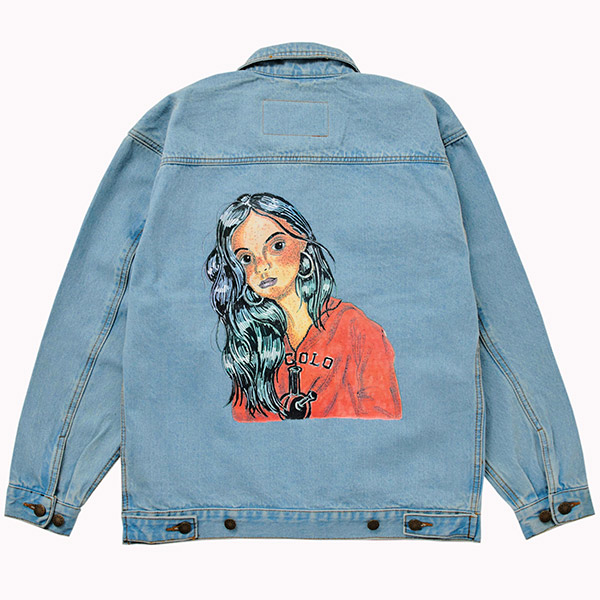 画像1: COCOLO GIRL DENIM JKT  (1)