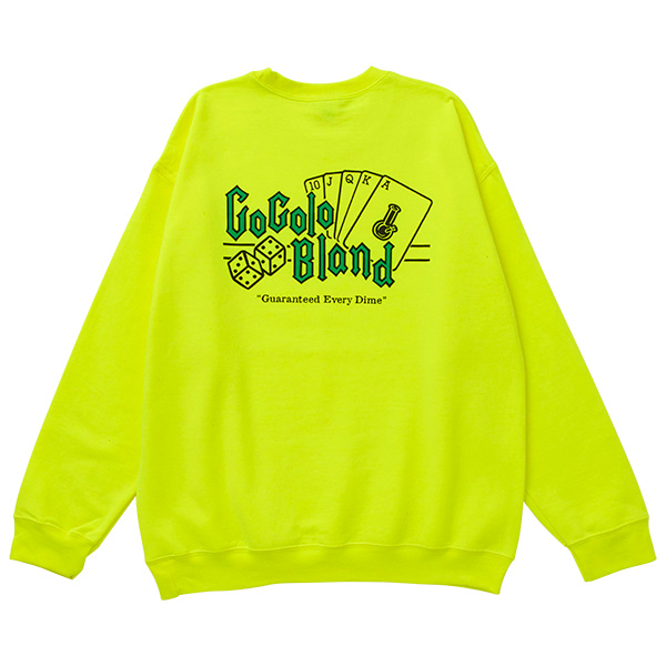 画像1: COCOLO ROYAL CREW SWEAT (NEON YELLOW) (1)