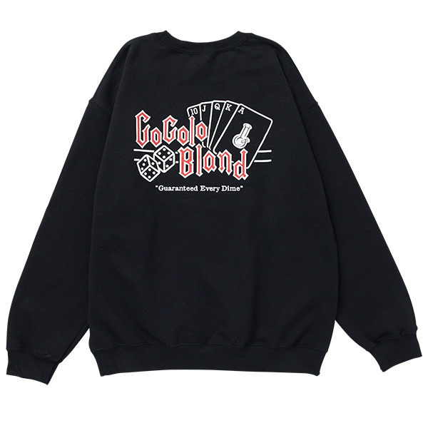 画像1: COCOLO ROYAL CREW SWEAT (BLACK) (1)