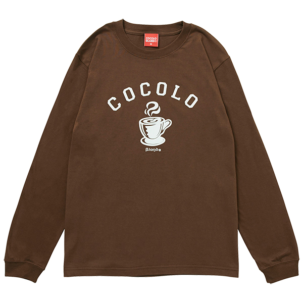 画像1: HOT COFFEE L/S (BROWN) (1)