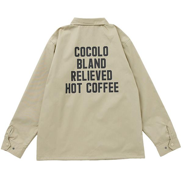 画像1: HOT COFFEE COTTON JKT(BEIGE) (1)