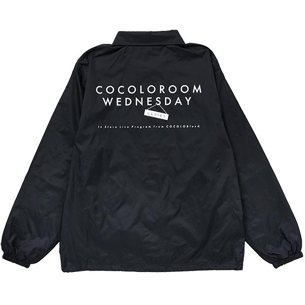 画像1: COCOLO ROOM WEDNESDAY COACH JKT (BLACK) (1)