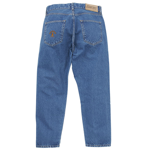 画像1: BONG WASHED DENIM JEANS (1)
