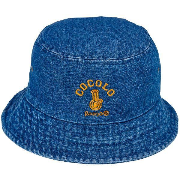 画像1: DENIM BUCKET HAT(DARK BLUE) (1)