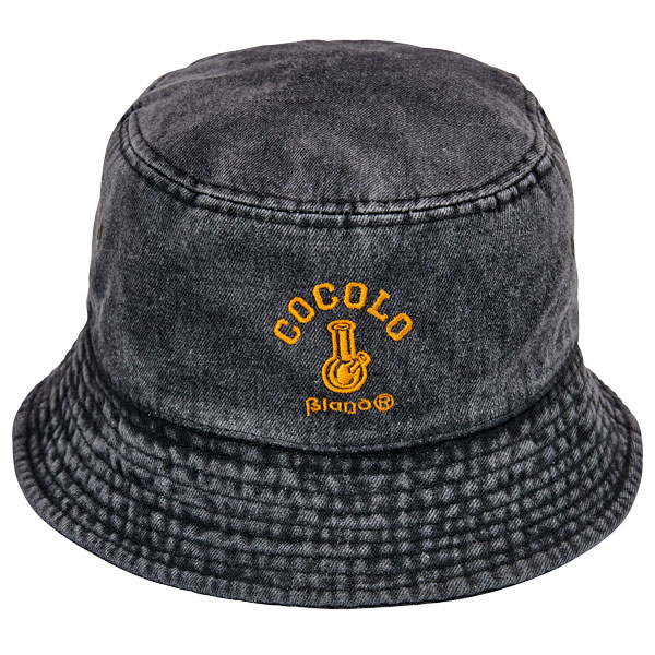 画像1: DENIM BUCKET HAT(BLACK) (1)