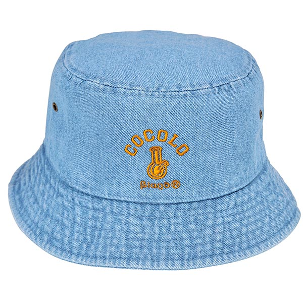 画像1: DENIM BUCKET HAT(Lt-BLUE) (1)
