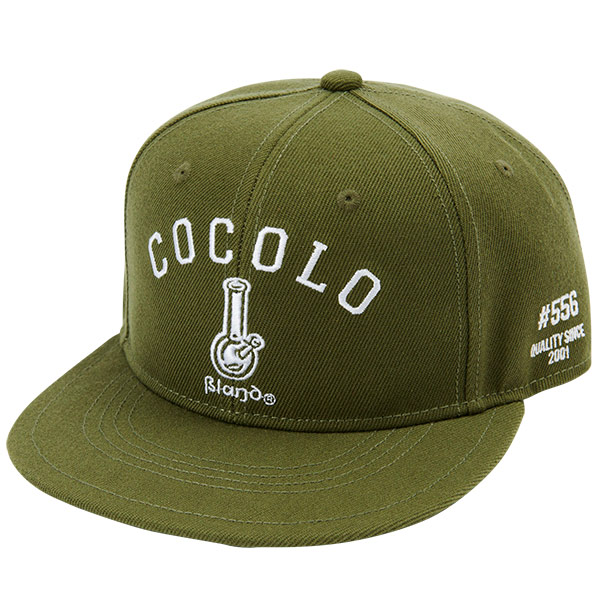 画像1: ORIGINAL BONG SNAP BACK CAP (OLIVE GREEN) (1)