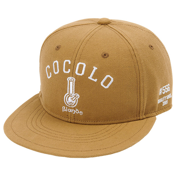 画像1: ORIGINAL BONG SNAP BACK CAP (BROWN) (1)