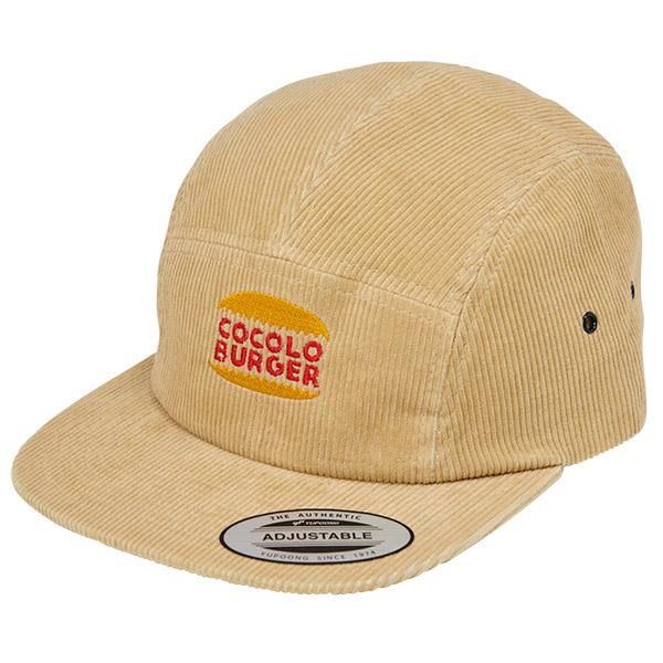 画像1: COCOLO BURGER CORD JET CAP (BEIGE) (1)