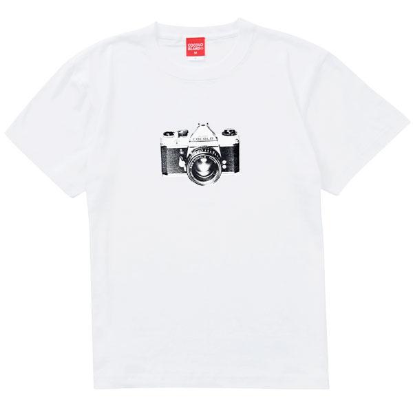画像1: CAMERA S/S TEE(WHITE) (1)