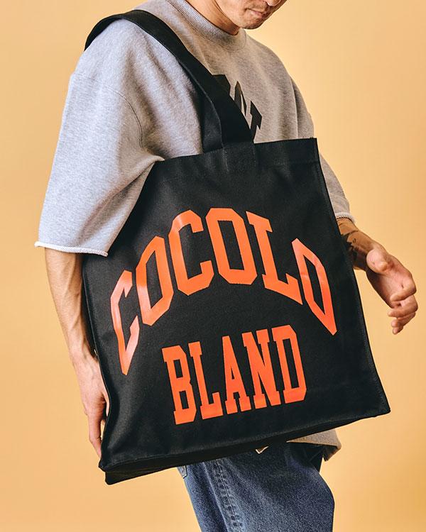 画像1: COLLAGE BIG TOTE BAG (BLACK) (1)
