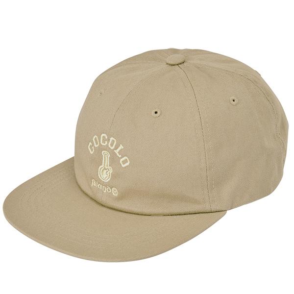 画像1: ORIGINAL BONG 6PANEL CAP(KHAKI) (1)