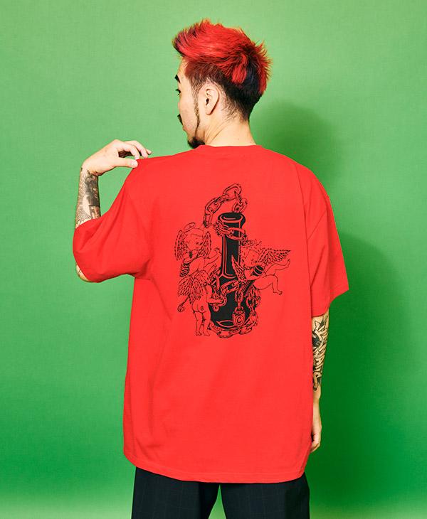 画像1: PUNK ANGEL S/S(RED) (1)