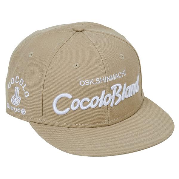 画像1: CURSIVE LOGO SNAP BACK CAP ( BEIGE ) (1)